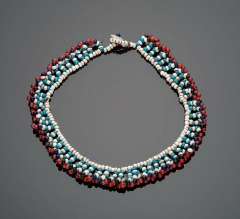 Africa | South Africa, Xhosa peoples, 20th century | Glass beads, buttons, and string