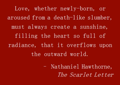 the foreshadowing method by nathaniel hawthorne in the scarlet letter Historical background (1) those events in the old world were exactly contemporary with the action of the scarlet letter nathaniel hawthorne.
