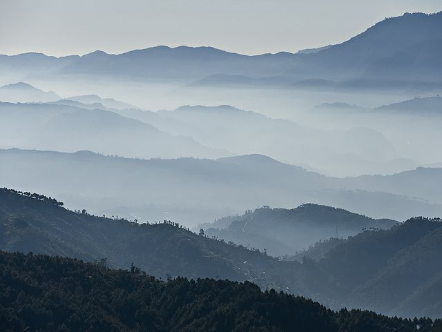 Nepal provides inspiration for patterns everyday. Do not underestimate the outdoors!