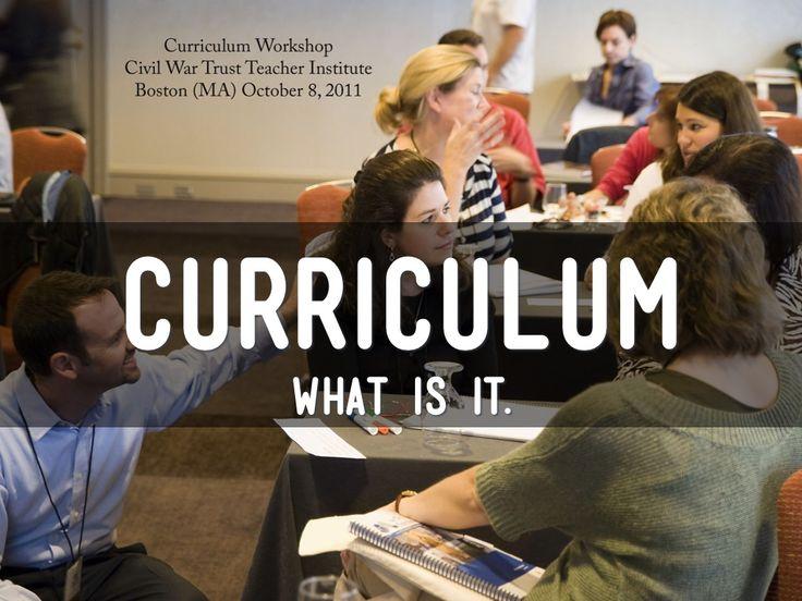 Curriculum Introduction