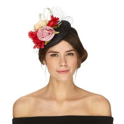 Debut Multi-coloured floral button fascinator | Debenhams