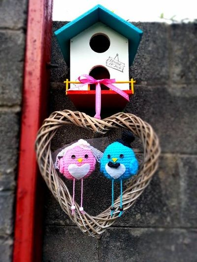 Crochet Lovebirds - Thing-a-ma-bobs