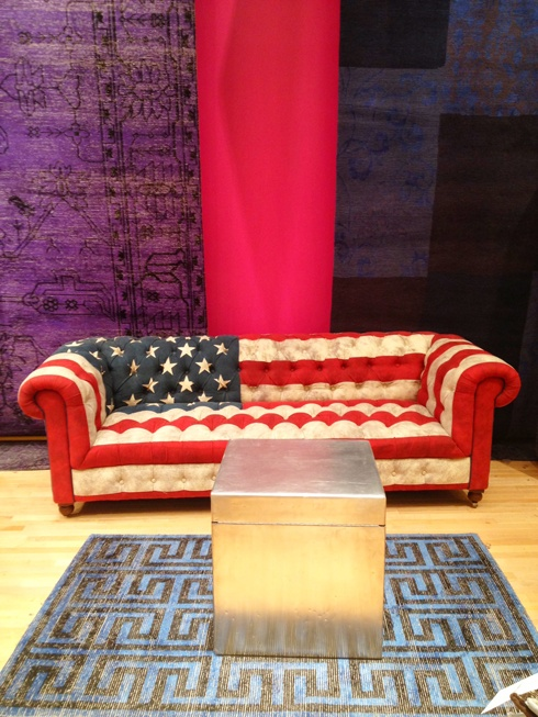 American Flag Chesterfield Sofa Old Glory Goos Pinterest Home Decor And