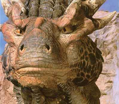 Draco!  Sean Connery as a dragon....is there a better reason to love Dragonheart?