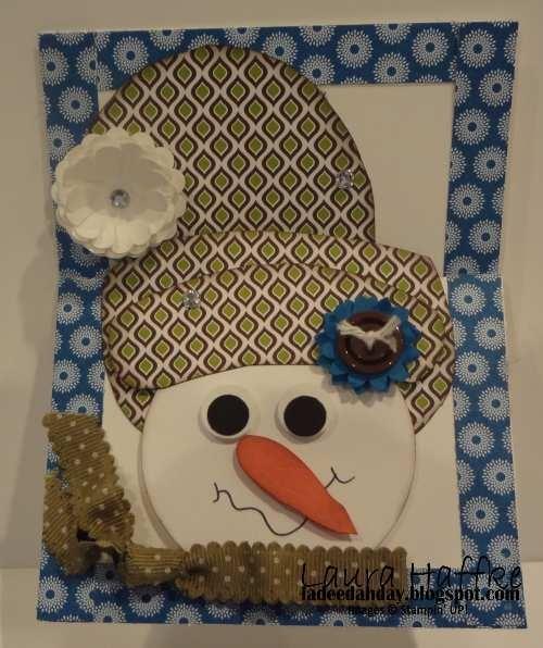 Trifold Snowman