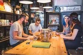Best Coffee Shop in Canada are high design cultural showrooms selling museum quality collectables and branded Tokyo Smoke goods on top of their custom roast coffee beans, artisinal sandwiches, baked goods and cold pressed juices.