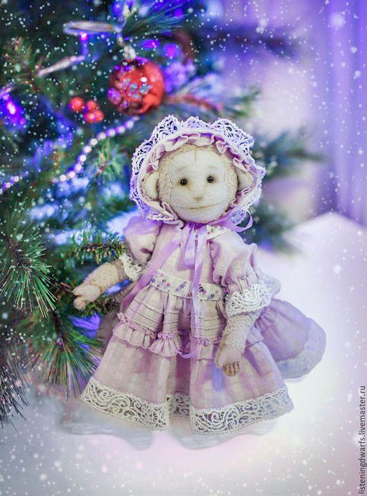 Teddy Bears handmade. Monkey Teddy and Jenny. Aleksandra Kulikova (listeningdwarfs). Online shopping on My Livemaster. Monkey #teddy #bear #teddybear #handmade #artdoll #ooakteddy #toy #bunny #teddybunny #rabbit #teddyrabbit #motherday