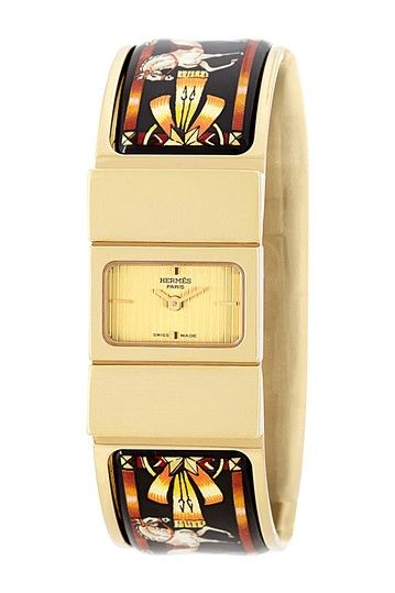 Vintage Hermes Women's Loquet Quartz Watch by Donald E. Gruenberg Inc. on @HauteLook