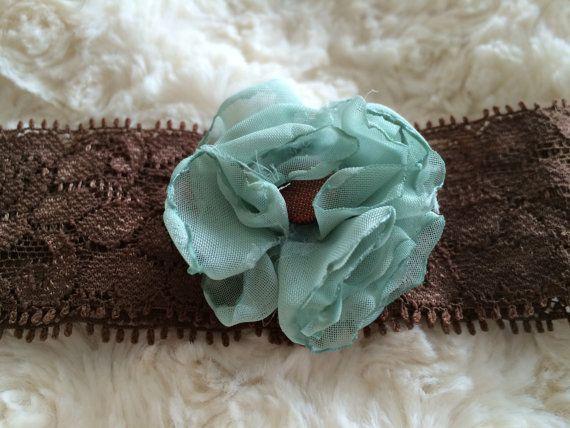 1 1/2'' Sea foam Green Burned Edge Puff with by LittleShneebs, $7.00#littleshneebs #babygirl #velcroheadbands #headbands #gift #Valentinesday  https://www.facebook.com/littleshneebs