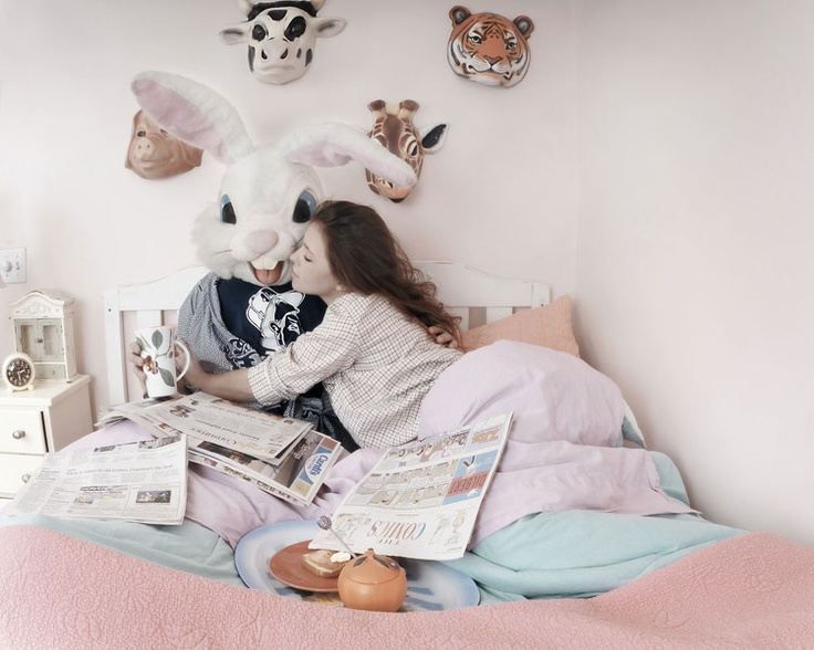 Easter Bunny Bedroom 2, Corey Grayhorse