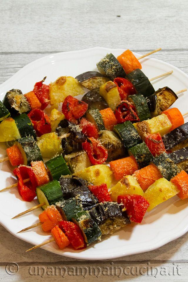 Ricetta spiedini di verdure di stagione al forno ricetta for Ricette cucina semplici