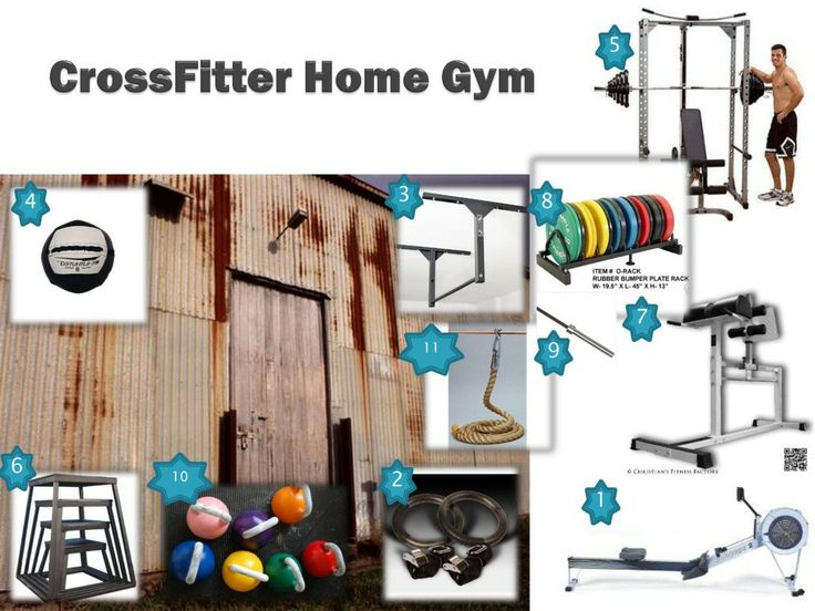 Best garage gym images on pinterest exercise