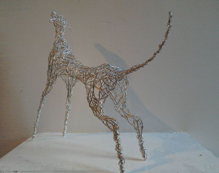 21 best Wire Sculpture images on Pinterest | Wire sculptures ...