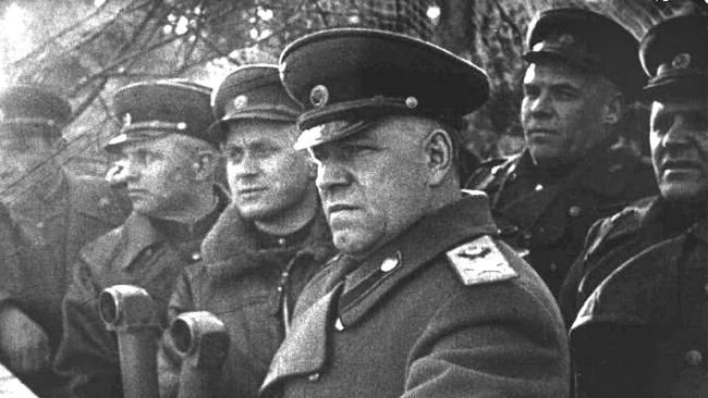 Georgy Zhukov would lead the Red Army in liberating the Soviet Union from the Axis Power's occupation and advancing through much of Eastern Europe to conquer Berlin during World War II. He is one of the most decorated heroes in the history of both Russia and the Soviet Union. After the fall of Germany, Zhukov became the first commander of the Soviet occupation zone in Germany.