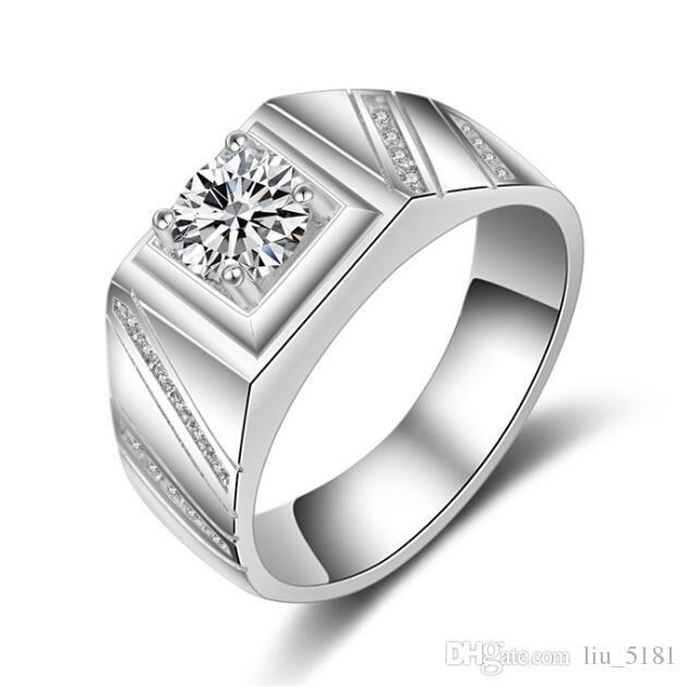Best Diamond Engagement Rings For Men 3 Rings For Men
