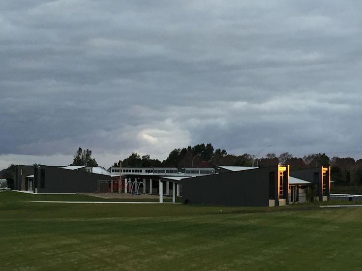 Beautiful morning sun shining on ACG Tauranga - Open Day on the 25th July, 2015.