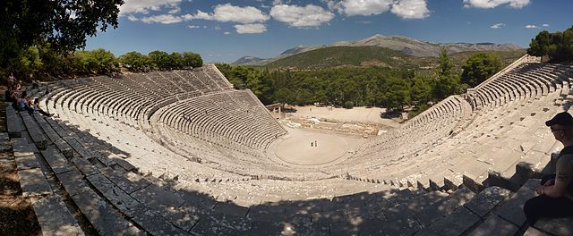 Enjoy an ancient tragedy performed in the #Epidaurus_Theater of exceptional acoustics under the moonlight and with the light breeze caressing your skin…all of them making for a unique experience.