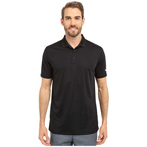 (ナイキゴルフ) Nike Golf メンズ トップス 半袖シャツ Victory Solid Polo 並行輸入品  新品【取り寄せ商品のため、お届けまでに2週間前後かかります。】 カラー:Black/White 商品番号:sh2-8659789-151