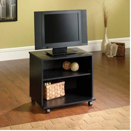 "Mainstays TV Cart for TVs up to 23-1/2"" - Walmart.com"