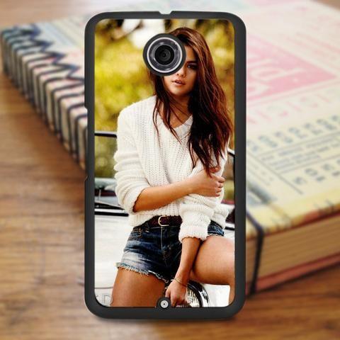 Selena Gomez Beautiful Singer Nexus 6 Case