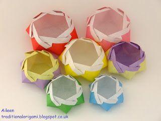 O QUE É MEU É NOSSO: Origami Caixa Estrela Hexagonal