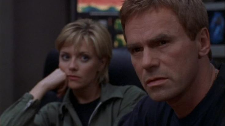 Stargate SG1 Richard Dean Anderson and Amanda Tapping