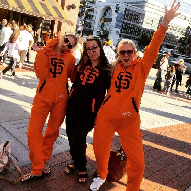 6df2c3552 ... Baby Polka Dot Sundress 15 Crazy Ways SF Giants Fans Are Wearing An  Adult Onesie Called A Swagga Suit ...