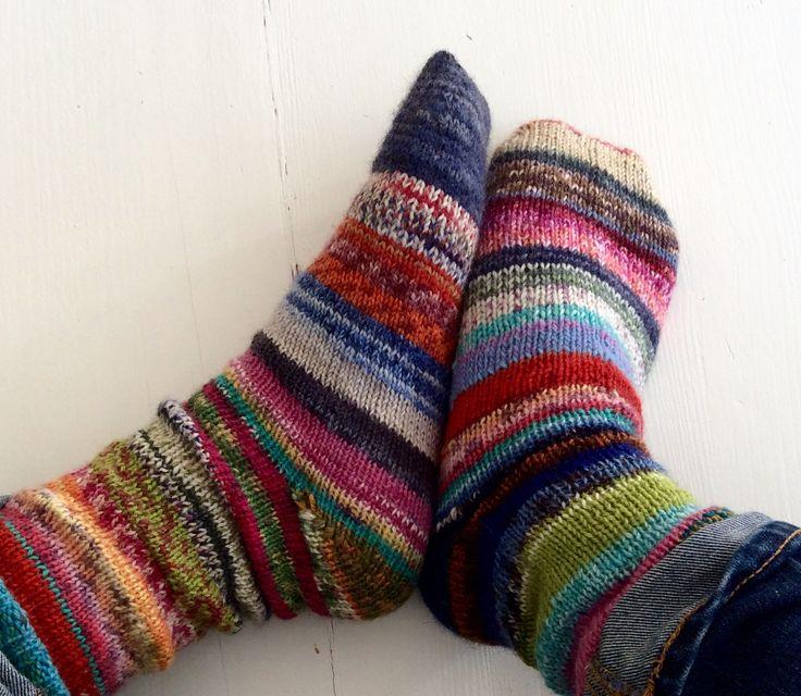 I LOVE mismatched socks that match