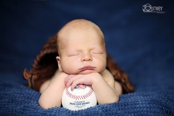 baseball newborn.... I would totally do this to my son