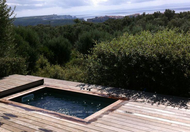 Concept piscine XS by Aquilus : un minium d'espace pour un maximum de plaisirs..