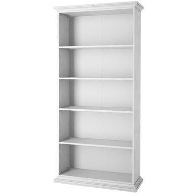 Tvilum Paris Tall Wide 200.76cm Standard Bookcase & Reviews | Wayfair UK