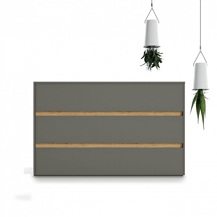 Modern design low chest of drawers 'Zip' by Dall'Agnese