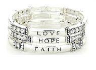 Love Hope Faith Bracelet