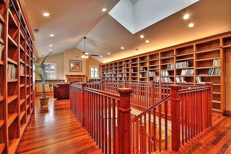 Great hallway library