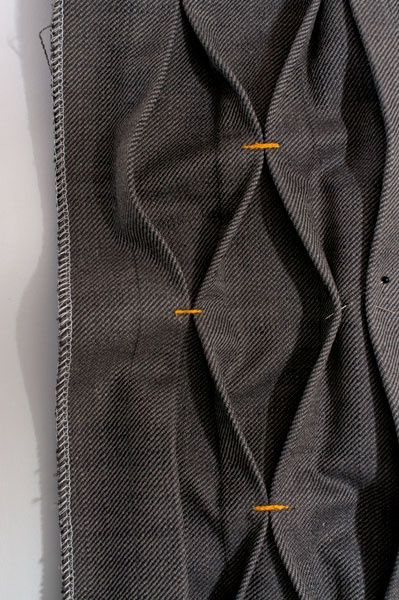 Fabric manipulation - basic smocking