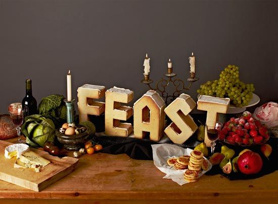 To Eat With Your Eyes: 40+ Delicious Food Typography Designs - noupe
