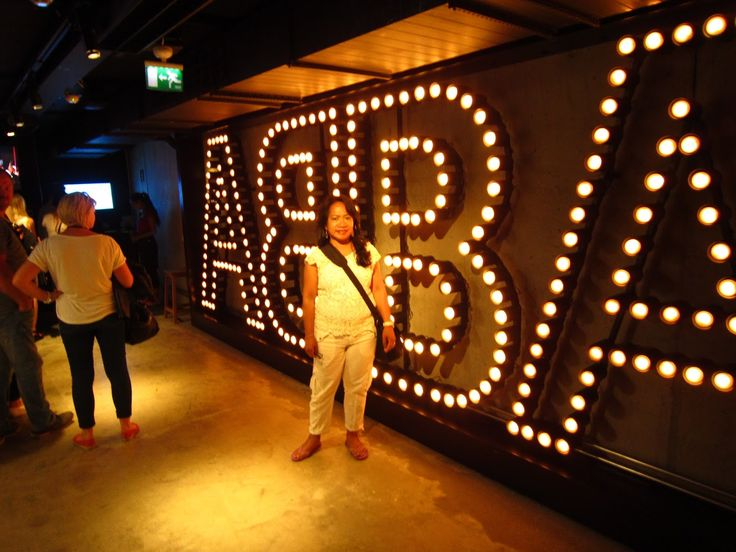 at ABBA The Museum