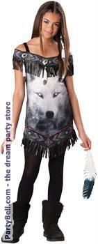 Tribal Spirit Tween Costume