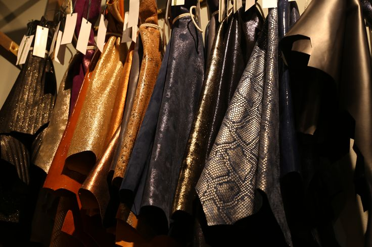 Glittering LINEAPELLE fair leather trends and colors ##fallwinter 2017-2018 edition at Rho Fiera Milano