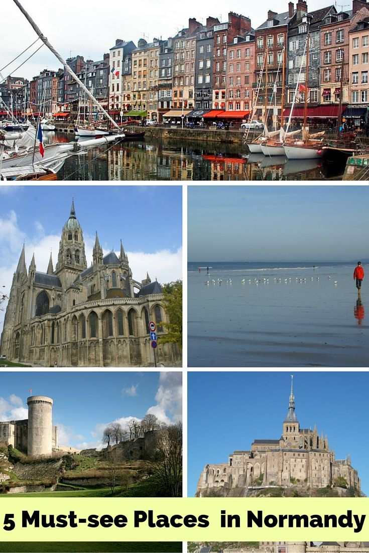 5 must see places in Normandy, France   Eco-Gites of Lenault