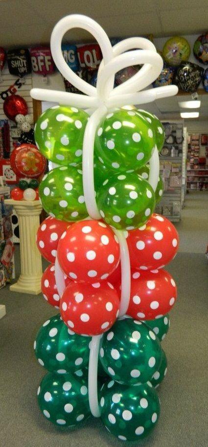 Christmas Balloon Presents Column 618-651-1505