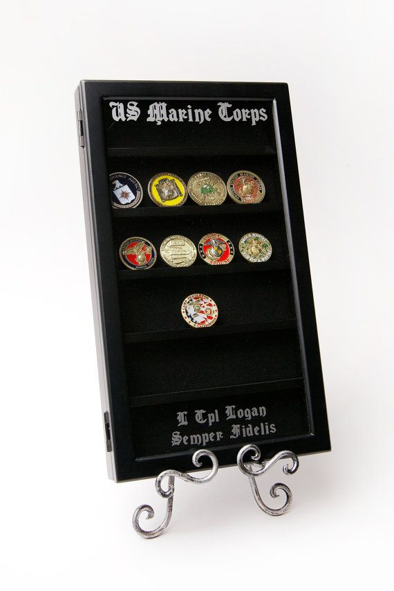 Hey, I found this really awesome Etsy listing at https://www.etsy.com/listing/155817860/personalized-challenge-coin-wall-display