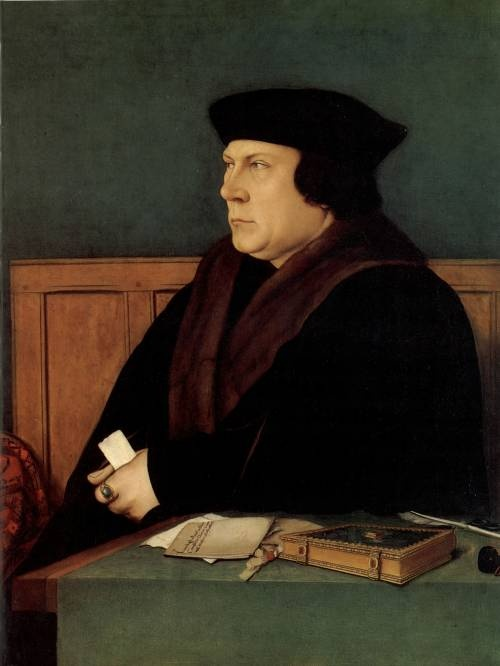 Thomas Cromwell, successor to Cardinal Wolsey. Later created Earl of Essex; executed for High Treason after his involvement in arranging Henry VIII's fifth marriage (Anne of Cleves)