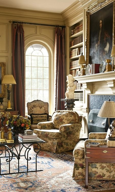 English Country House Drawing Rooms