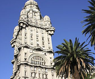 The Palacio Salvo in Montevideo, Uruguay