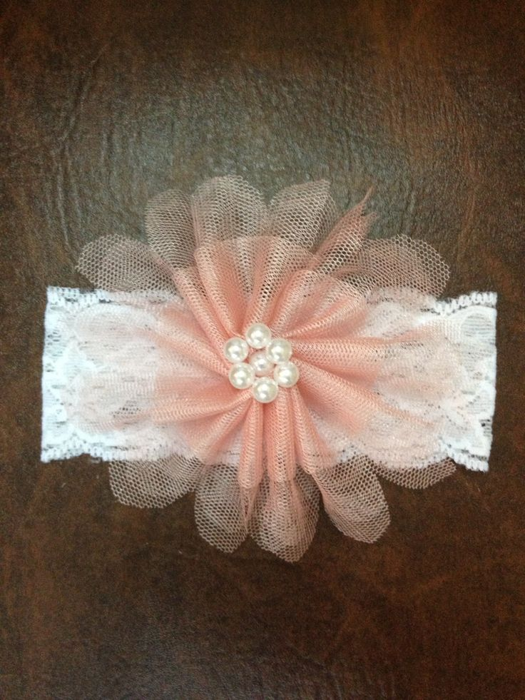 Pink hair band for baby girls