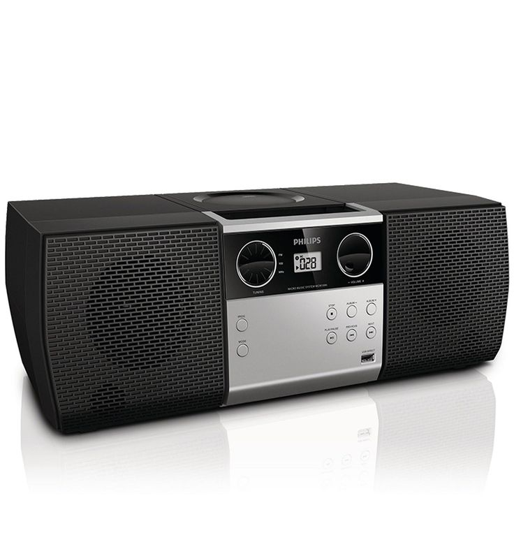 Philips Micro Hi-Fi System MCM1006 CD, MP3-CD, USB, FM 4W 120/240 Volts