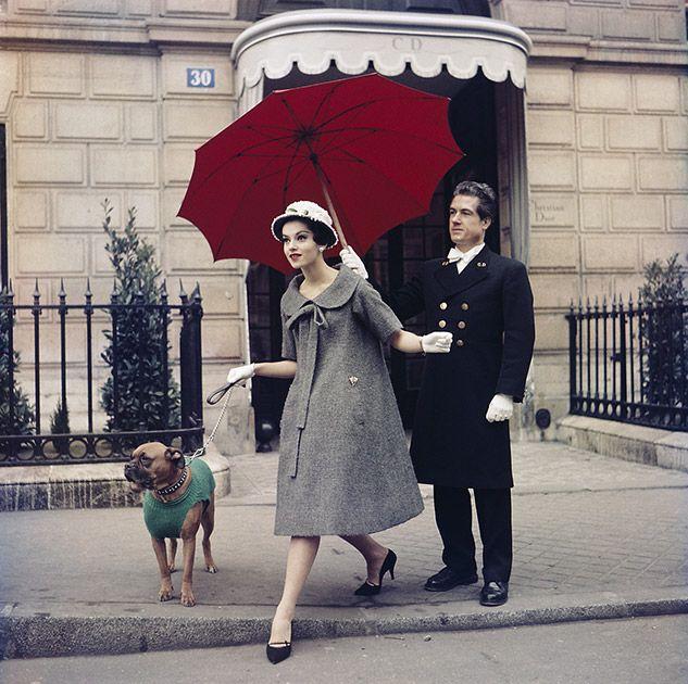 Chez Dior, Paris, 1958