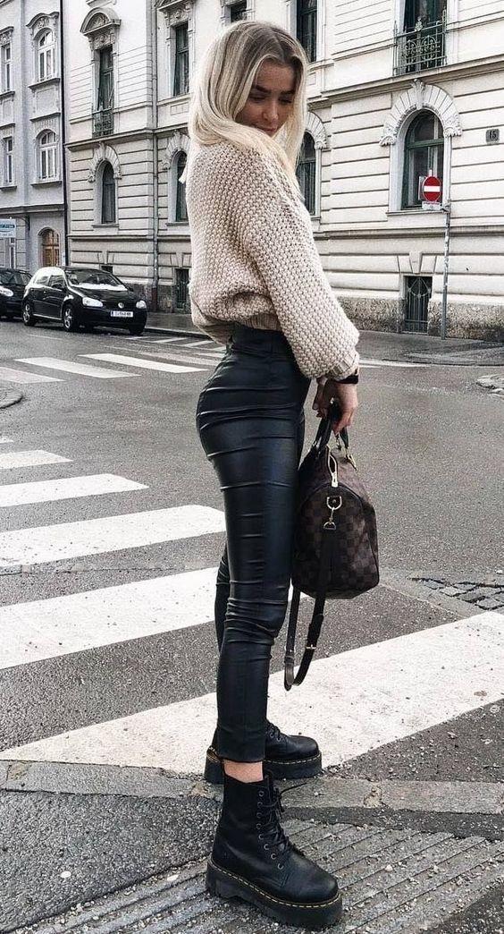 Façons de porter le pantalon noir tendances 2019