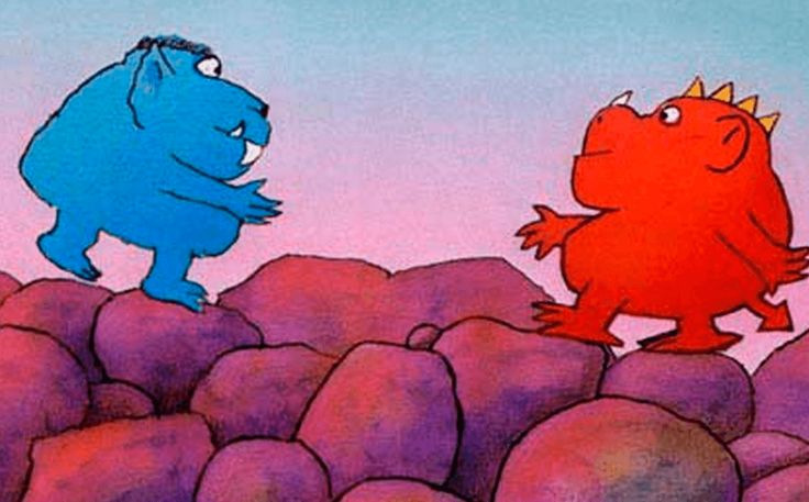 Dos monstruos. Cuentos para la reflexión y resolución de conflictos.